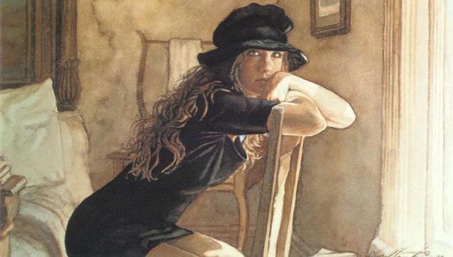 美国最顶级艺术家的水彩作品,把光和影运用到极致了,不愧是大师