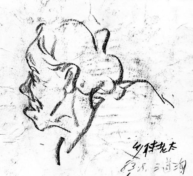 李伟速写1983-1984