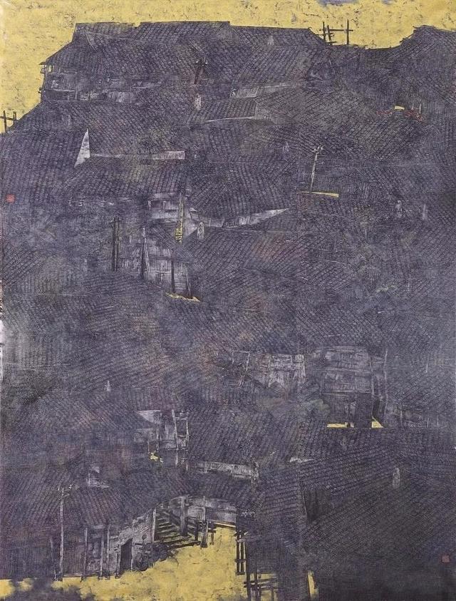 """读画有感:十三届全国美展山水画的五个""""一以贯之"""""""